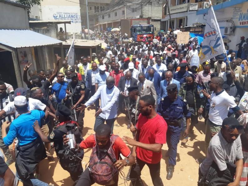 Kongo central: première journée de travail du gouverneur Atou Matubuana