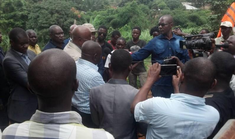 Kongo central: après la pluie meurtrière à Mbanza-Ngungu, quatre députés nationaux à l'écoute des sinistrés