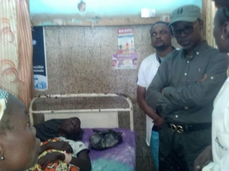 Éboulement à Mbanza-Ngungu: le gouverneur Atou Matubuana face aux  sinistrés
