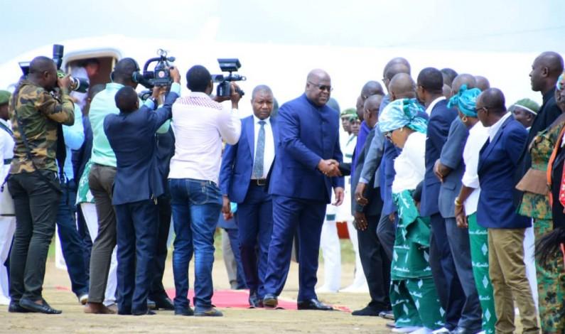 RDC: première visite du président Félix Tshisekedi chez les kimbanguistes, à Nkamba, au Kongo central