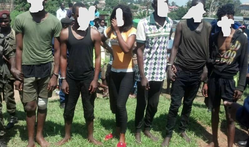 Six présumés bandits à mains armées aux arrêts à Mbanza-Ngungu, au Kongo central