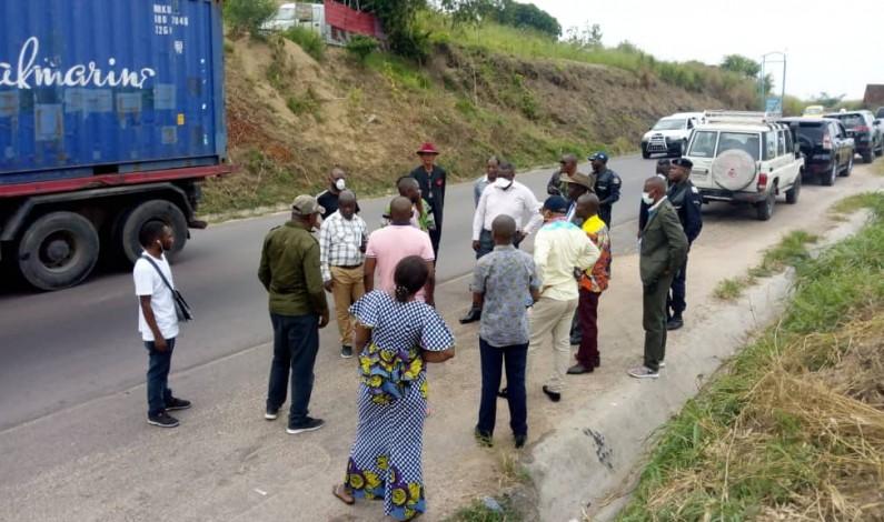 Coronavirus: recherche d'un point de contrôle sur la route nationale Kinshasa-Matadi