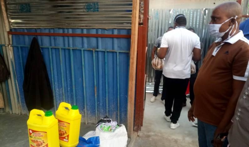 Matadi: des vivres, don de Deo Nkusu aux malades isolés du Coronavirus