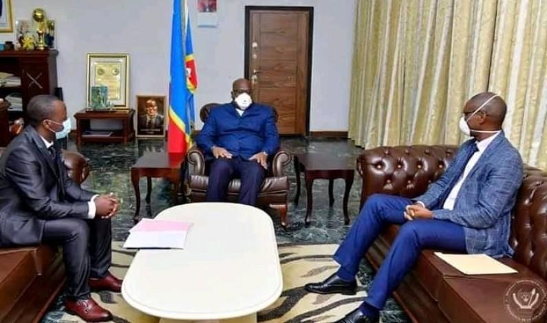 Covid-19: Félix Tshisekedi promet de soutenir le Dr Jérôme Munyangi, chercheur qui travaille sur l'artemisia