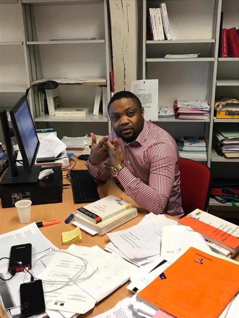 Interview : Guelord Luema, enseignant de droit à l'Université Paris XII contre  la proposition des lois des députés Minaku et Sakata