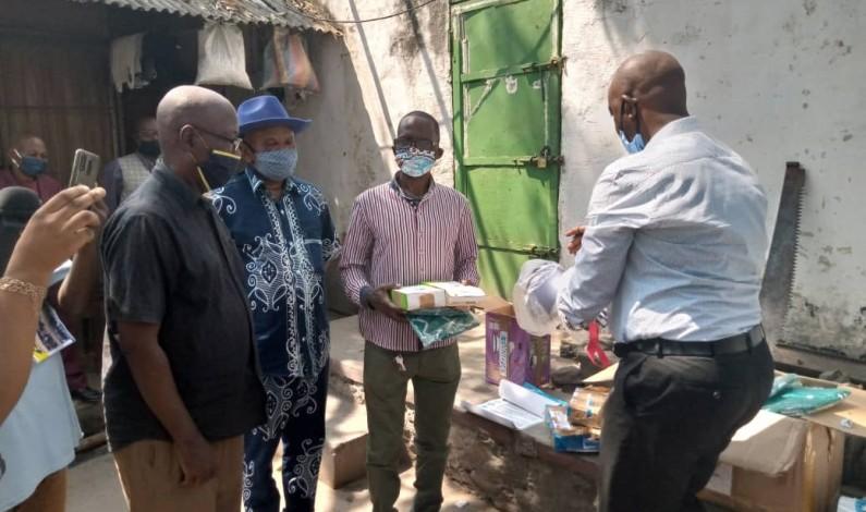 Covid-19: la Monusco offre des équipements de protection à la prison de Matadi