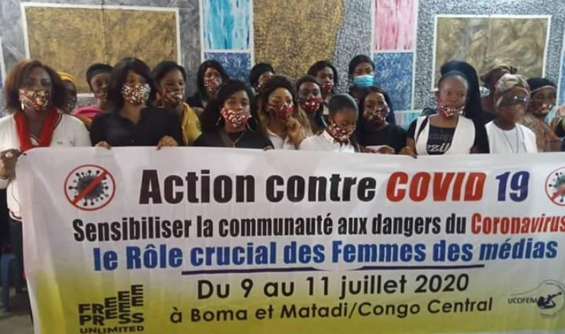 Covid-19 : ''…nous avons le devoir de faire circuler de bonnes informations'' : Anna Mayimona aux femmes des médias de Matadi