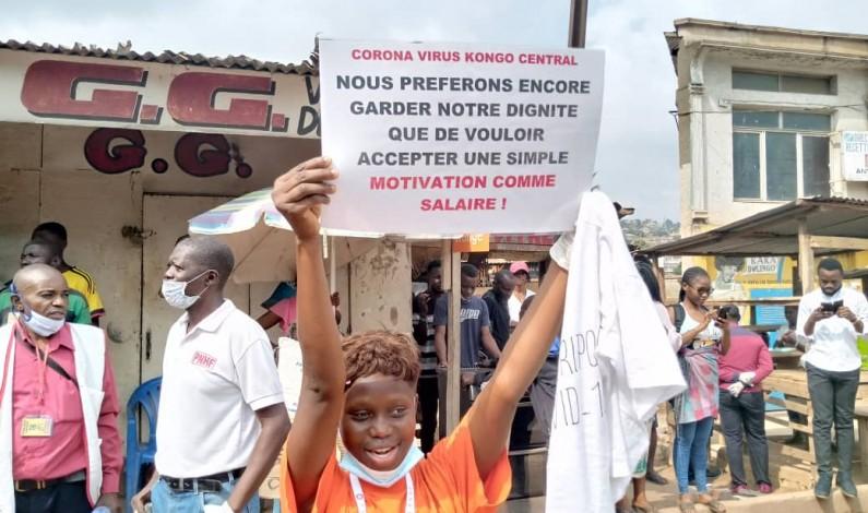 Matadi: la marche des agents affectés à la riposte contre la Covid-19 stoppée par la police