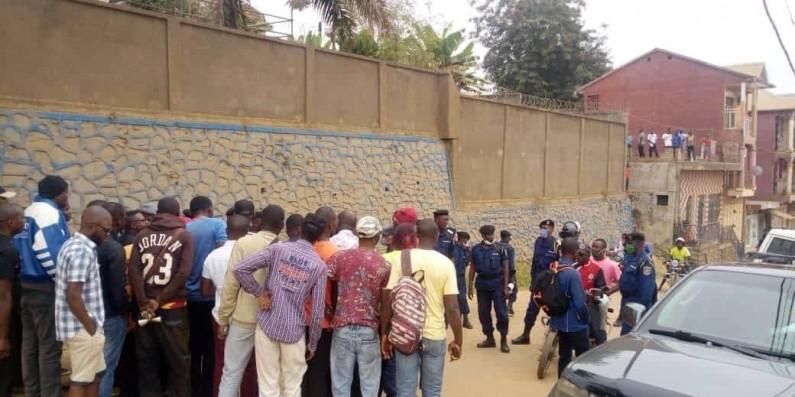 Marche contre le gouverneur: fort déploiement des policiers