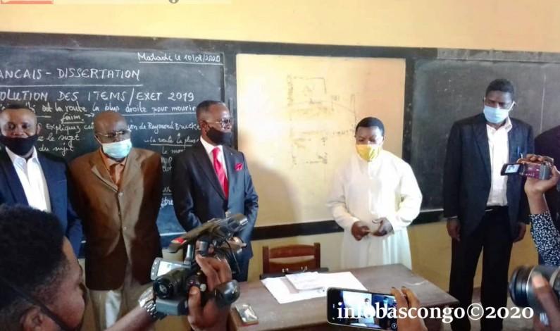 Kongo central : tous pour une poursuite de l'année scolaire sans Covid-19