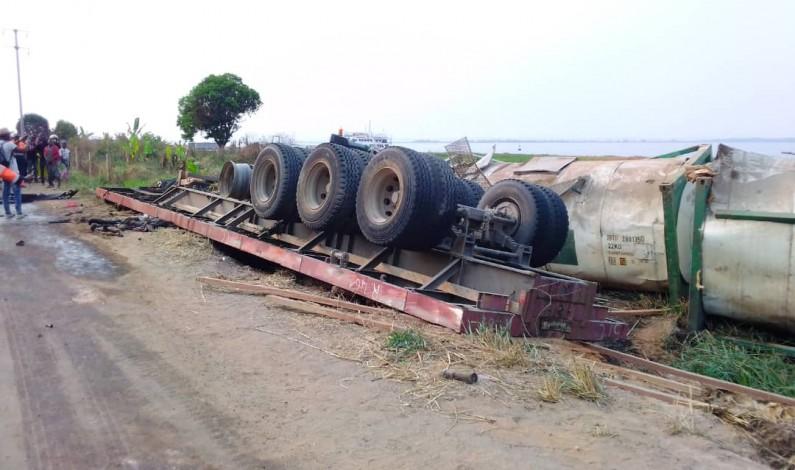 Route Boma-Moanda: au moins trois morts dans un accident de circulation