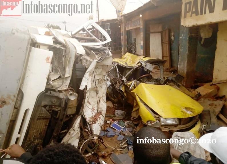 Des morts après un accident de circulation à Mbanza-Ngungu