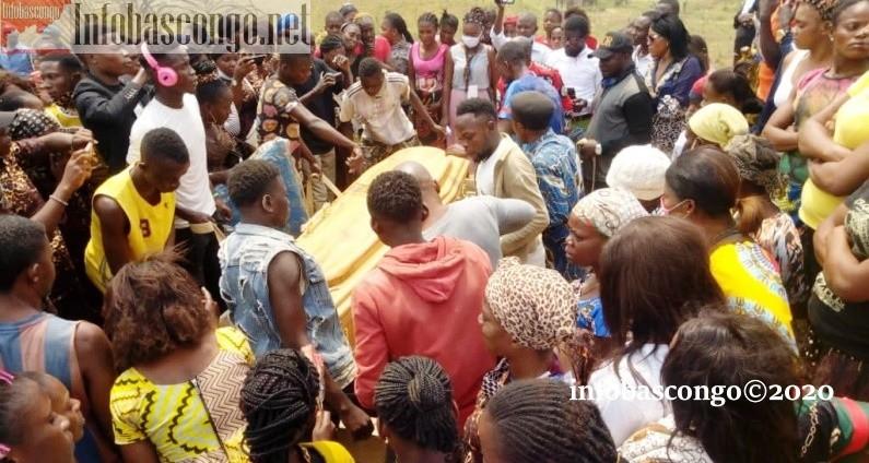 Funérailles de Bibi Khonde morte d'une balle à Boko : ''Ta mort ne provient ni de Dieu ni de la famille. Elle a été provoquée par l'Etat''