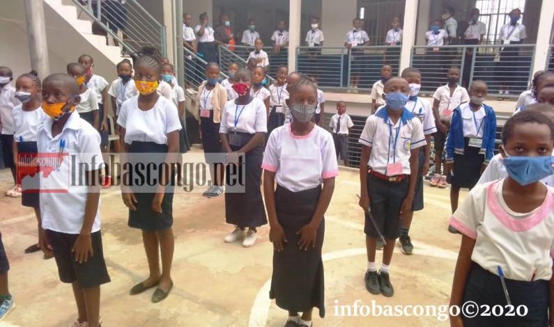 Covid-19-après la contamination de deux élèves de Kinshasa, Lambert Mbadu insiste sur le respect des gestes barrières