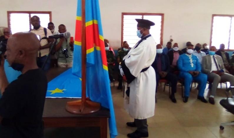 Le nouveau procureur de la République près le Tribunal de grande instance de Matadi prend ses fonctions