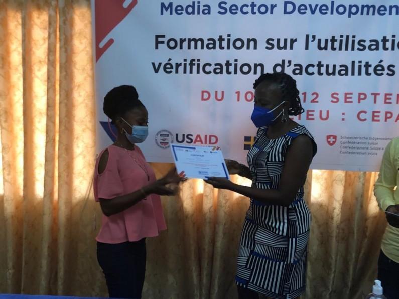 RDC: des journalistes décidés à traquer la désinformation