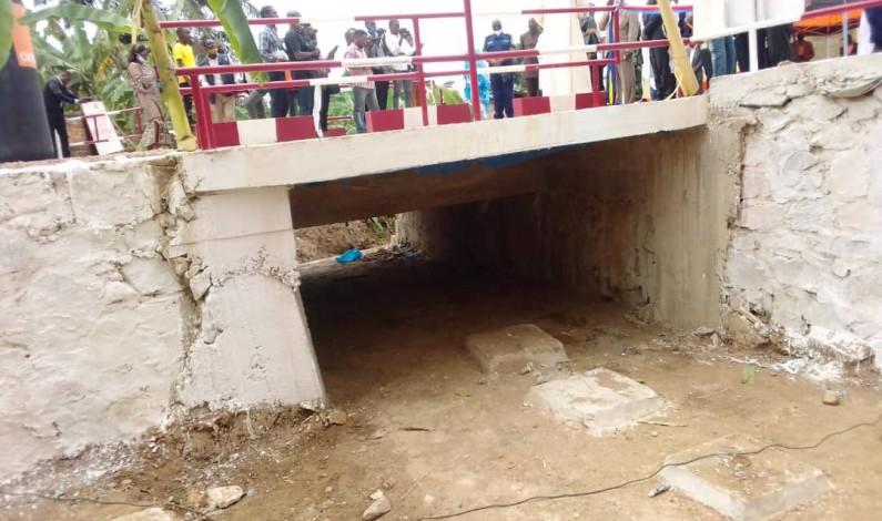 Viba Ntima,le pont qui protège l'hôpital général de référence de Boma