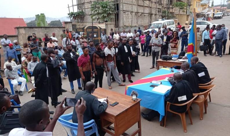 Matadi: procès en flagrance de trois présumés kulunas