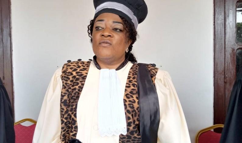 Mbanza-Ngungu: Cécile Ntumba, nouvelle présidente du TGI demande aux parents de ne plus couvrir le viol
