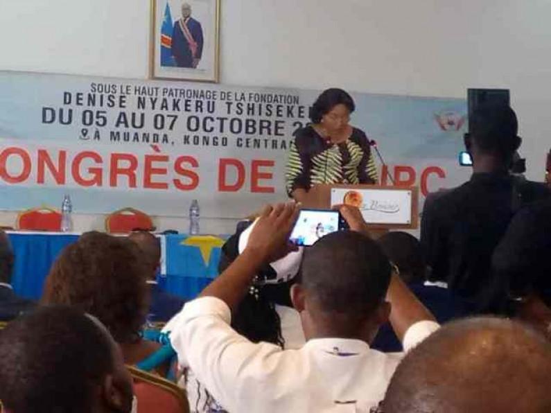 Des messages à Denise Nyakeru, la Première dame de la RDC