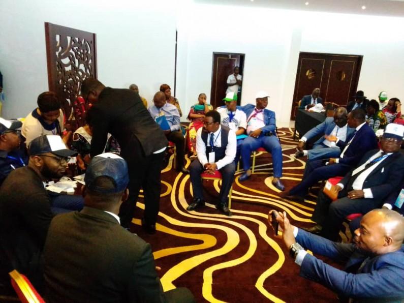 Moanda: Boucar Tshilunde réélu président de l'UNPC