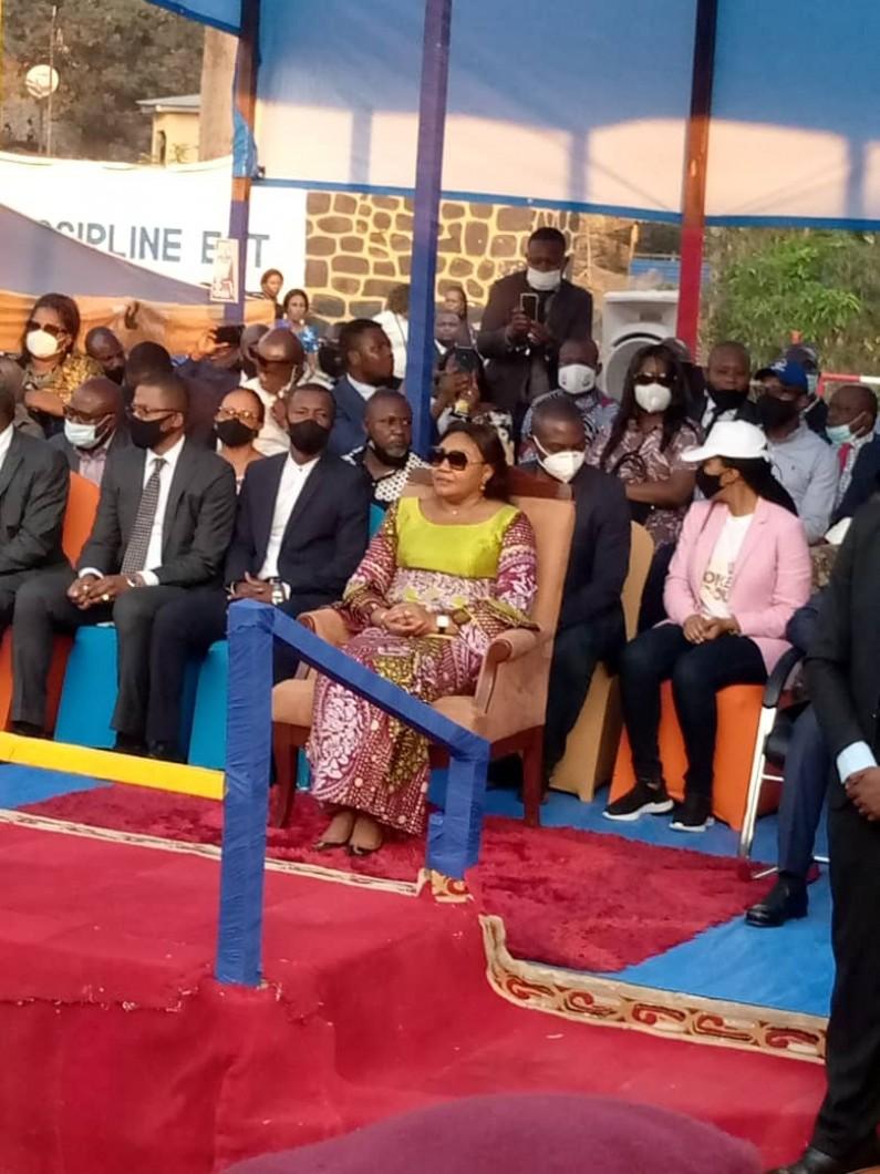 Denise Nyakeru aux matadiens:»Vous aurez bientôt de bonnes nouvelles au sujet du port et du stade Lumumba»