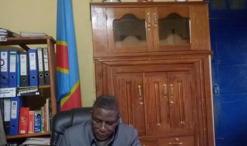 Edgar Mwandwe, le Proved Kongo central 1 donne les détails de l'année scolaire 2020-2021