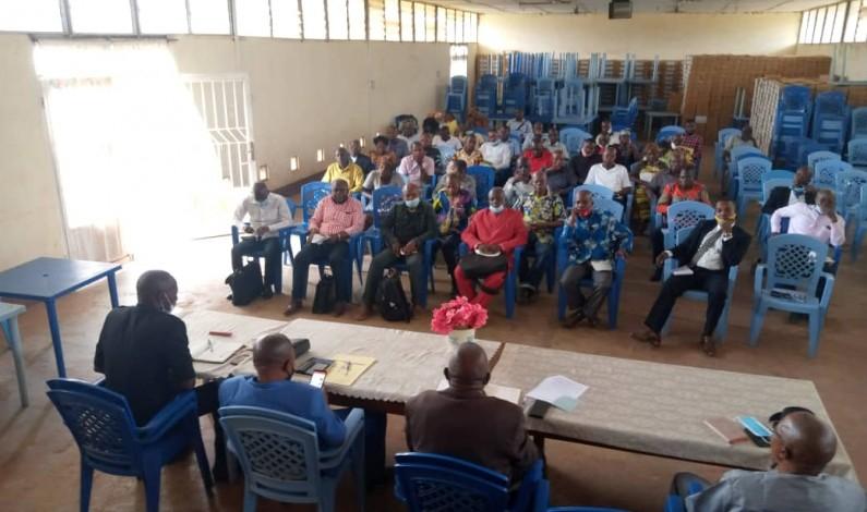 Non reprise des cours dans certaines écoles de Mbanza-Ngungu: le Proved conscientise les chefs d'établissements