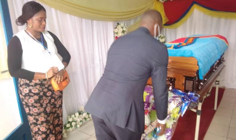"""Obsèques du député Albert Nsimba: """"Jean-claude Mvuemba veut que justice soit faite"""""""