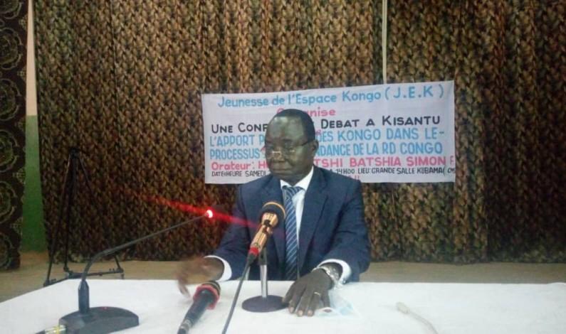 Simon Mbatshi :<<Le Kongo central,c'est 2% du territoire national mais c'est le poumon de la RDC ''