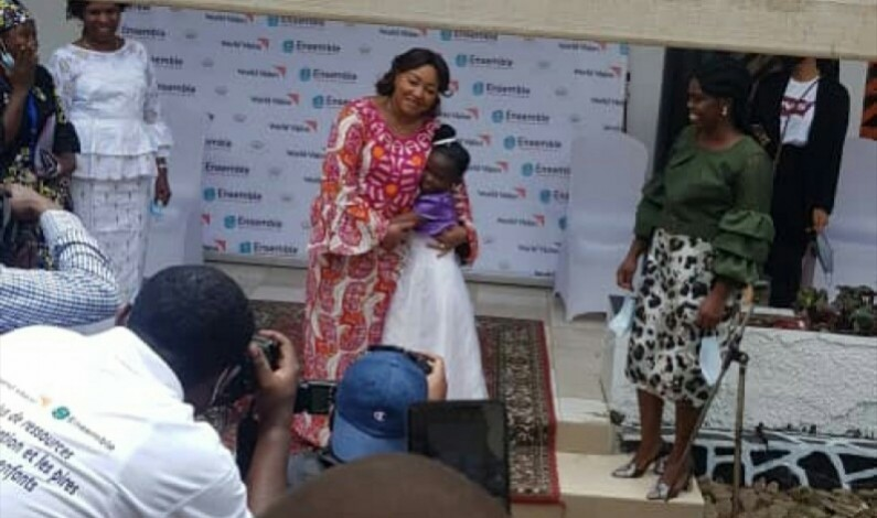 Kisantu: adresse rigolote mais interpéllatrice de Miradi Bungu, 8 ans, à la Première dame