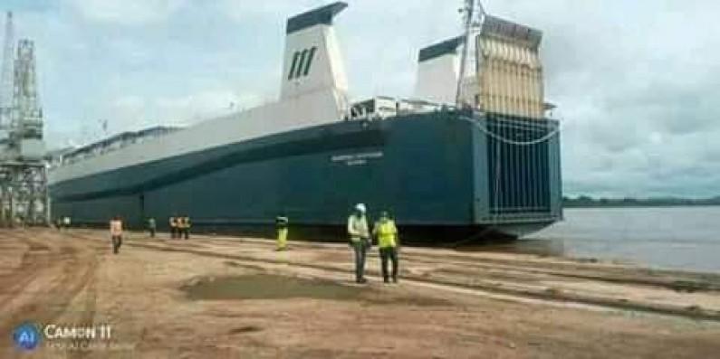 La Congolaise des voies maritimes réceptionne sa nouvelle drague