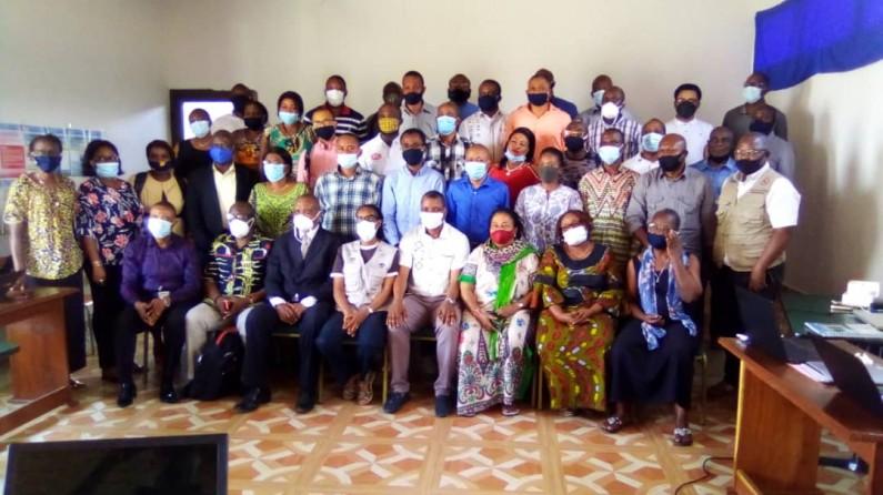 RDC: 45 formateurs centraux heureux d'avoir été formés aux outils de planification et quantification en besoin des médicaments et autres produits de santé, à Matadi