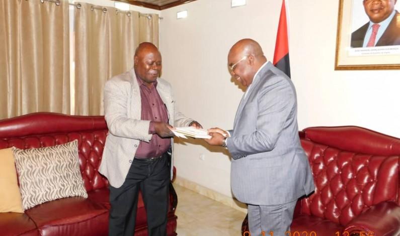 Simon Kimbangu Kiangani invite le président angolais à Nkamba au centenaire de l'église Kimbanguiste