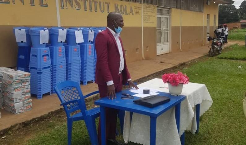 A Mbanza-Ngungu, l'Unicef fait encore don d'outils de lutte contre la Covid-19 aux écoles