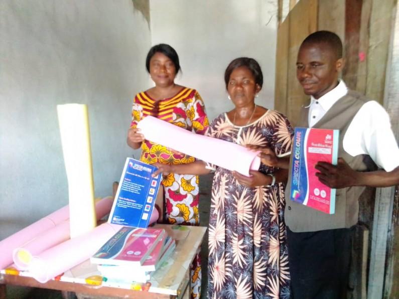 Boma: des outils moins chers mais importants pour l'apprentissage des personnes non et mal voyantes