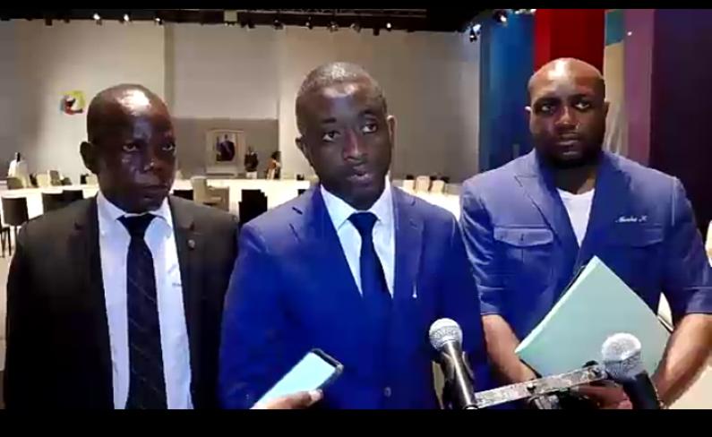Question au ministre des Postes et NTIC à lAssemblée nationale :Modero Nsimba non satisfait