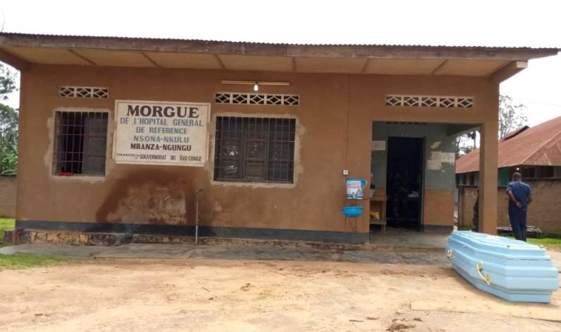 Kongo central : odeur nauséabonde à la morgue de Mbanza-Ngungu