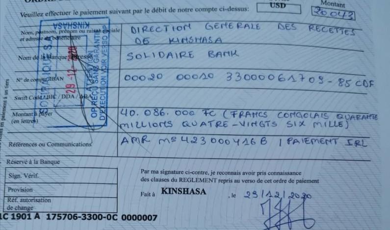 Le paiement des retenus locatifs de la fondation Nyakeru réjouit la DGRK