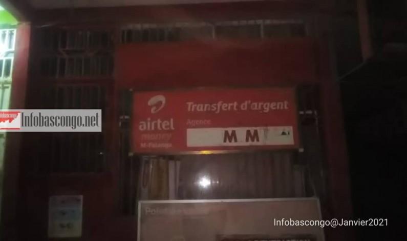 Cambriolage d'un shop par des hommes armés à Matadi