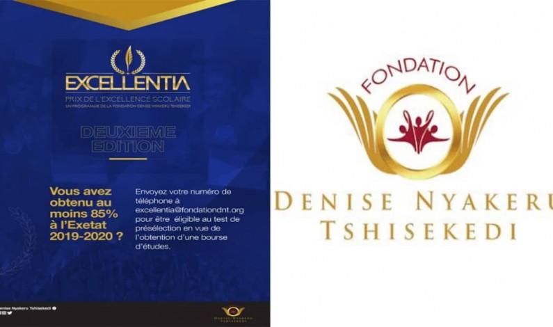 Fondation Denise Nyakeru: test de sélection pour la bourse Excellentia lundi 11 janvier à Matadi, au Kongo central