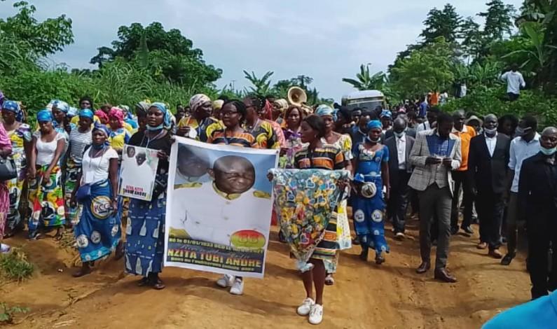 Matadi : funérailles du révérend Nzita Tubi André de l'EBNM Belvédère