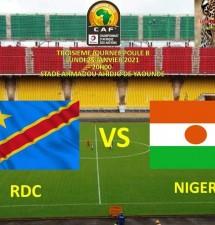 La RDC rencontre le Cameroun en quarts de finale du Chan 2020