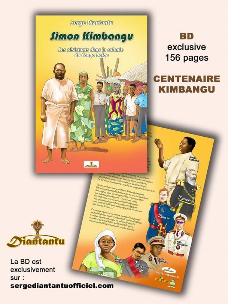 Les résistants dans la colonie du Congo belge : l'histoire de Simon Kimbangu en bande dessinée