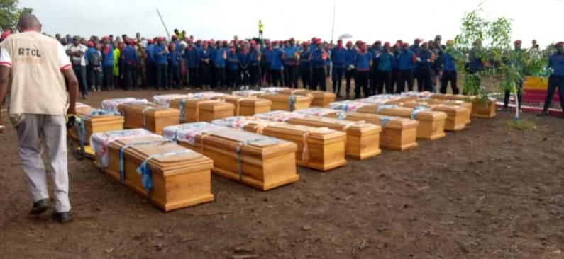 Le message de BDM à Félix Tshisekedi aux obsèques des membres de ce parti politique