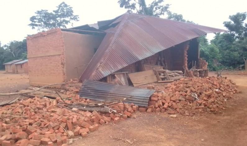Songololo : des sinistrés d'un vent violent sollicitent l'aide des autorités