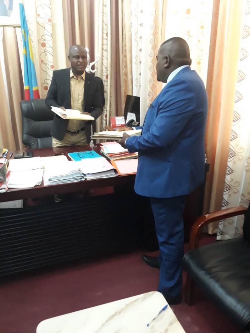 Kongo central : le commissaire général Pierre Lanto  prend ses fonctions