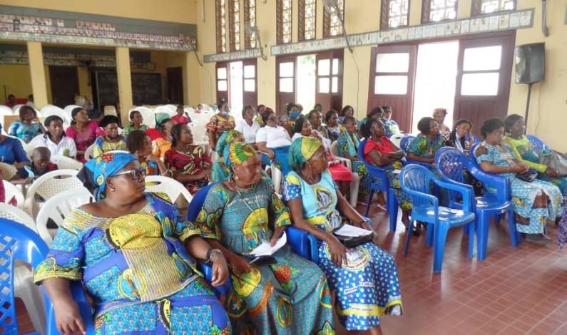Au menu de la rencontre des mamans catholiques de Boma, le leadership féminin
