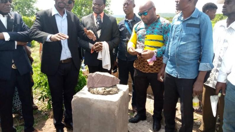 '' Kongo dia mpa '' lance les travaux de construction de la cité moderne de Kisielele, à Kasangulu