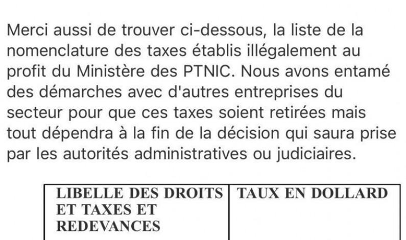 RDC: Les startups s'opposent à la perception du taux des droits, taxes et redevances du ministère des PTNTIC